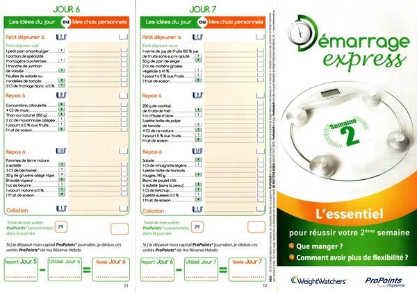 Préférence explications programme TM22