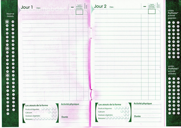 Mon Programme Minceur Weight Watchers Page 40